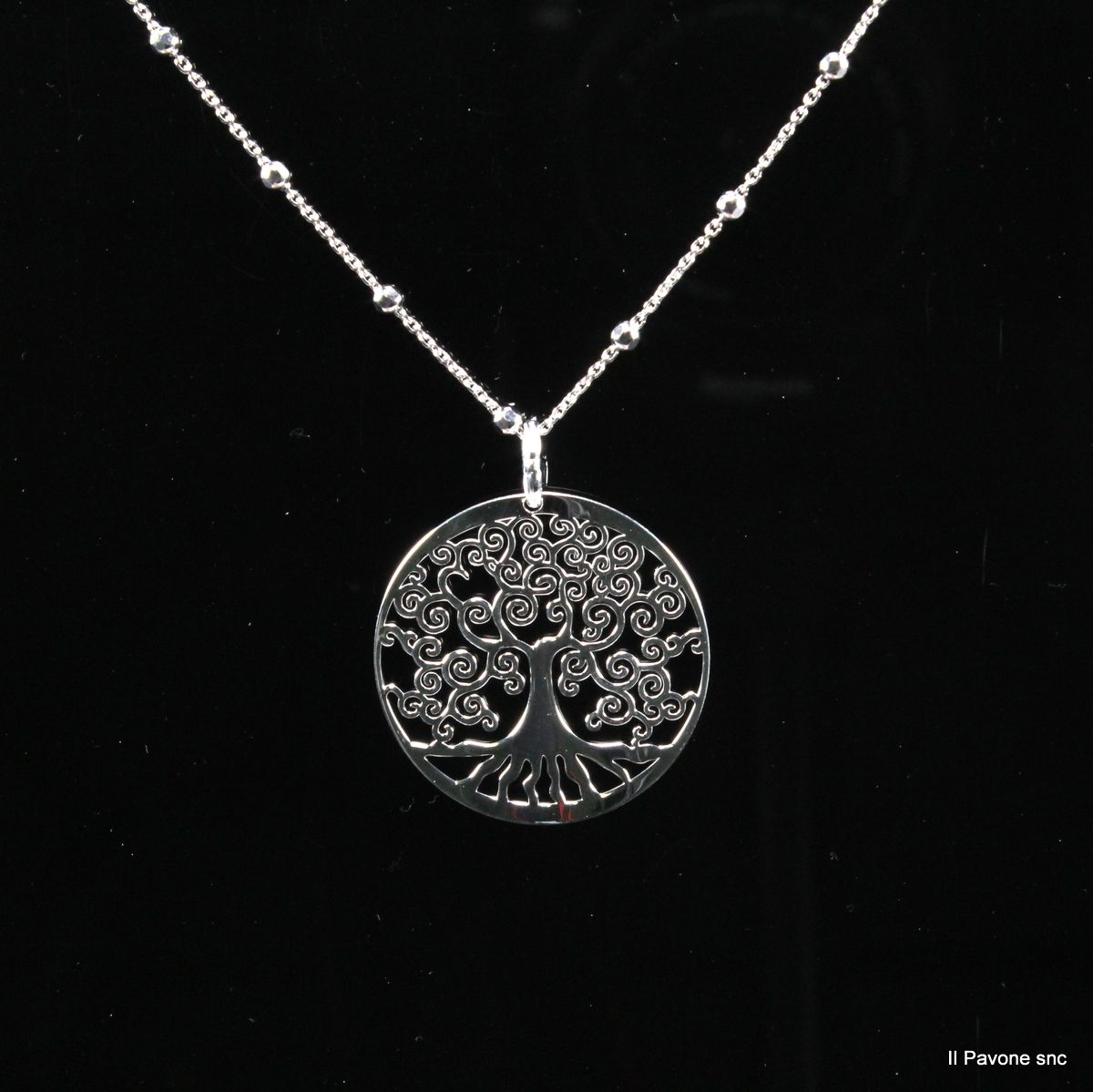 Collana Argento Albero della Vita