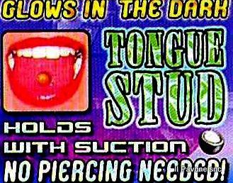 Piercing Lingua PVC
