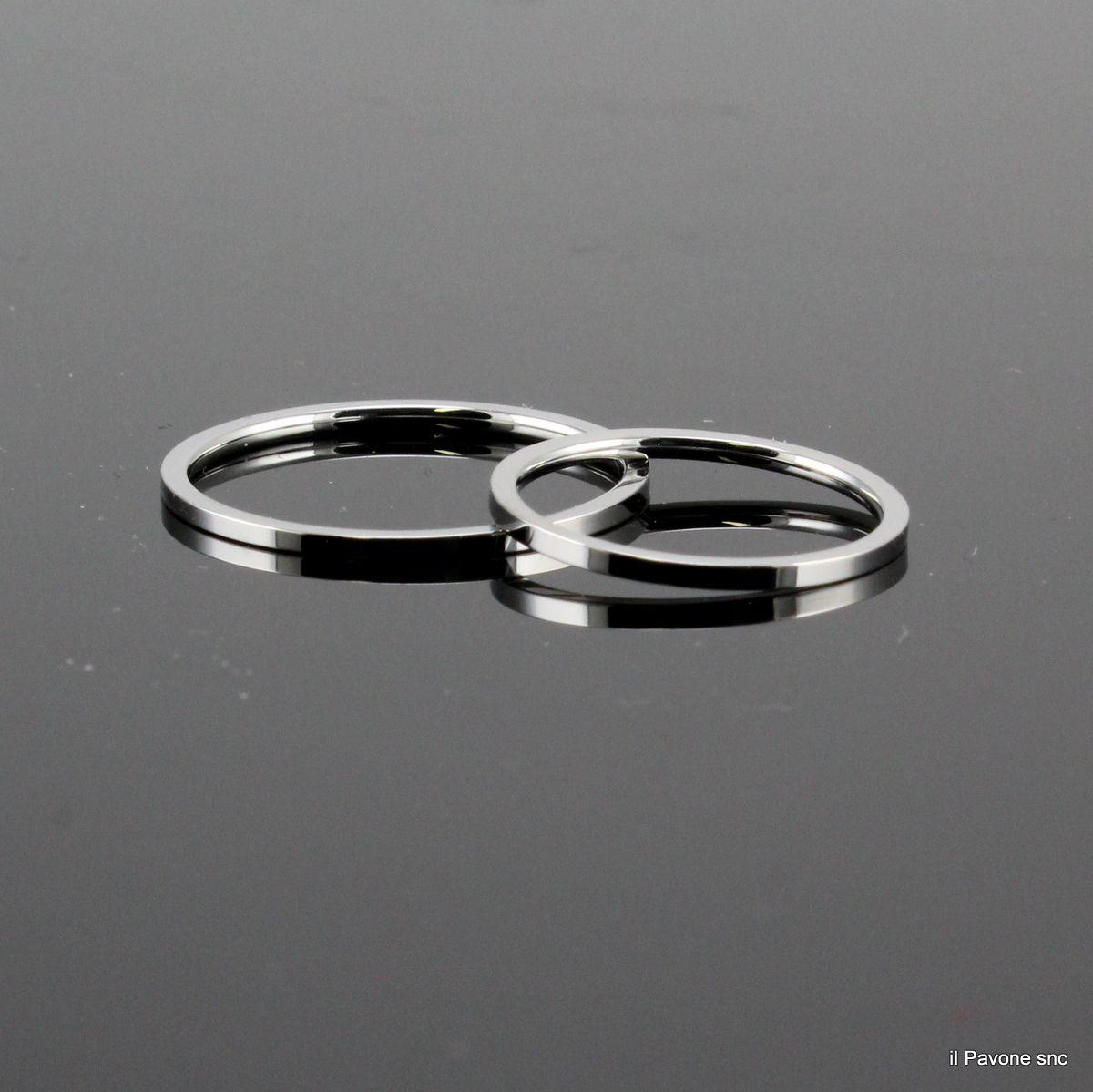 Anello Acciaio 1 mm