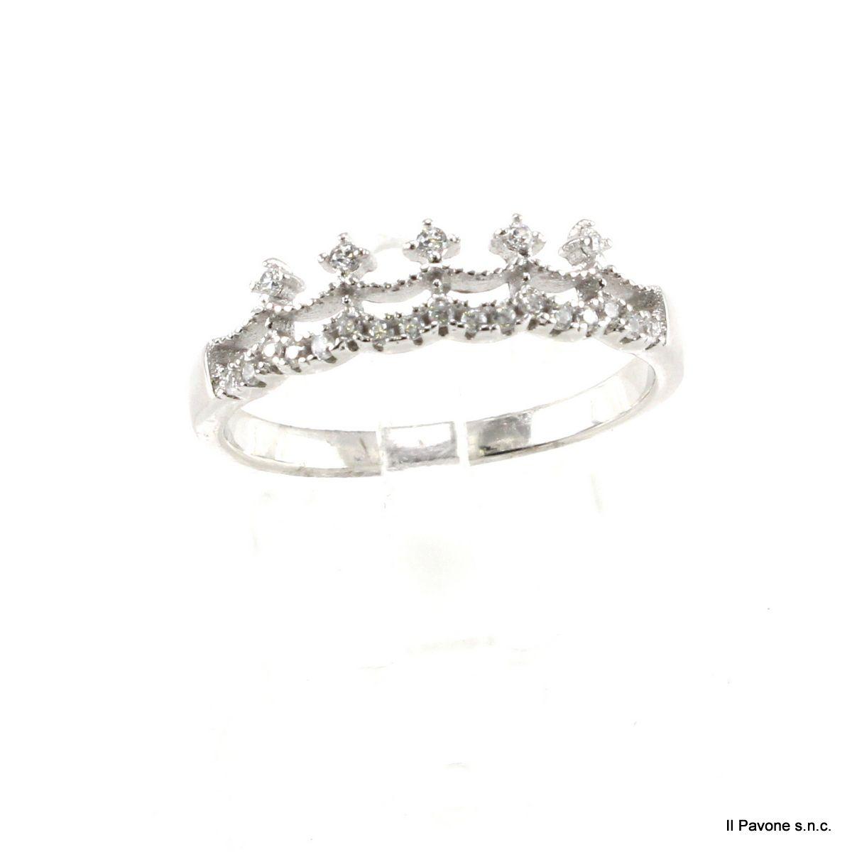 Anello Argento Principessa 03