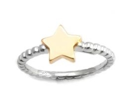 Anelli argento Stella Oro