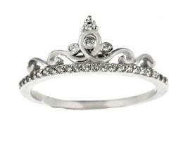 Anello Argento Principessa