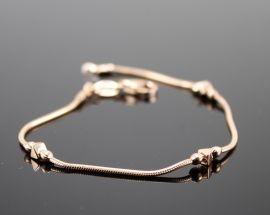 Bracciale Argento 5156 Oro Rosa
