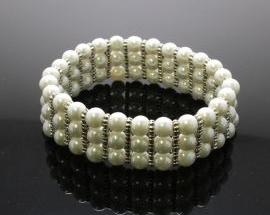 Bracciale Perla Elastico12