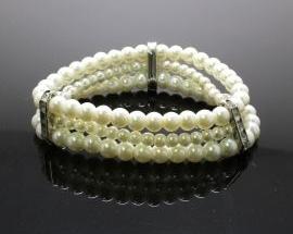 Bracciale Perla Elastico13