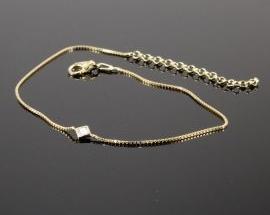 Cavigliera Argento 42 Oro