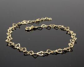 Cavigliera Argento 36 Oro