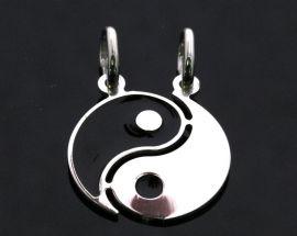 Ciondoli Argento Yin e Yang da Spezzare