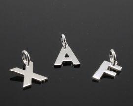 Ciondoli Argento Lettere