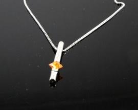 Collana Argento Cristallo01