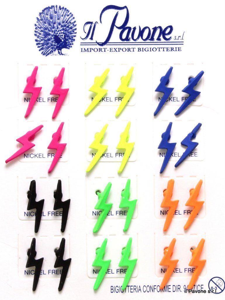 prodotto caldo presentando migliore qualità per Orecchini Fluorescenti Saetta | Orecchini Mini Orecchini