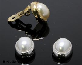 Orecchino Perla Ovale